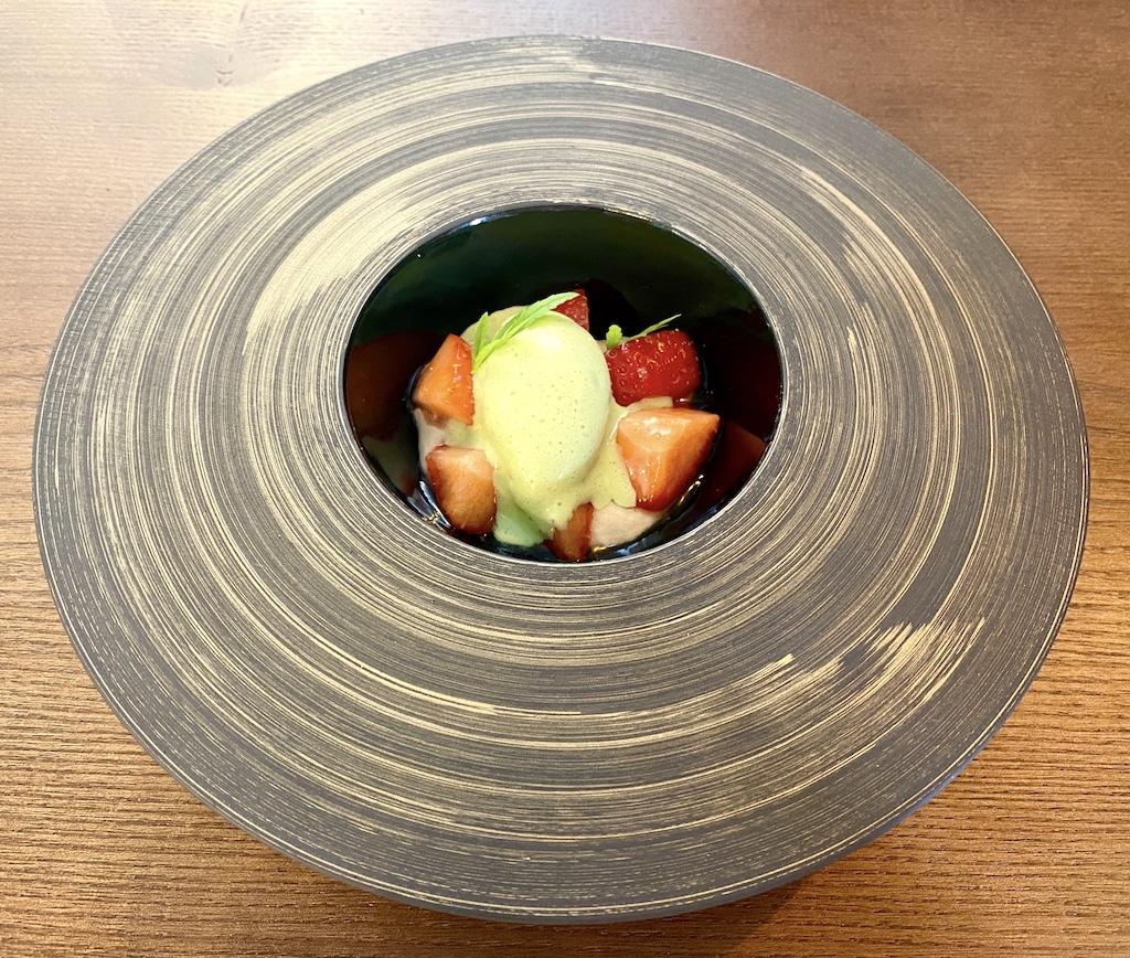 Summer strawberry dessert Unalome by Graeme Cheevers