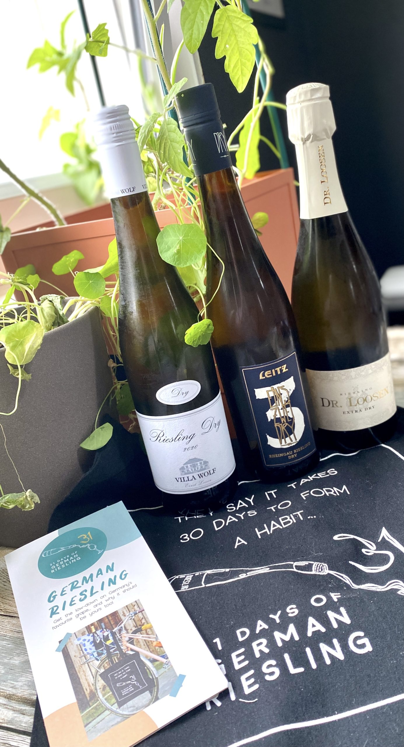 31 days of german riesling wine events scotland luvians tasting