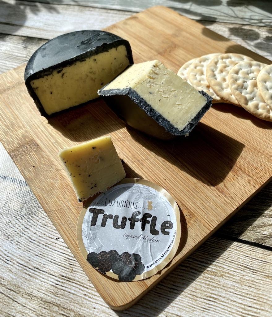 chuckling cheese co truffle cheese