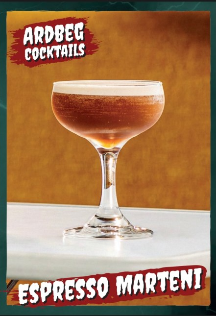 ardbeg halloween cocktails