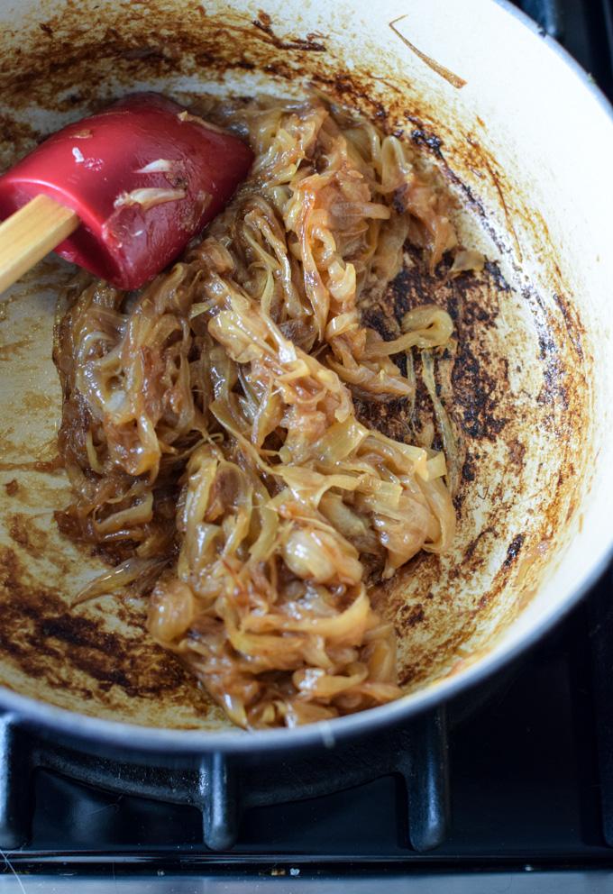 Finished Caramelized Onions