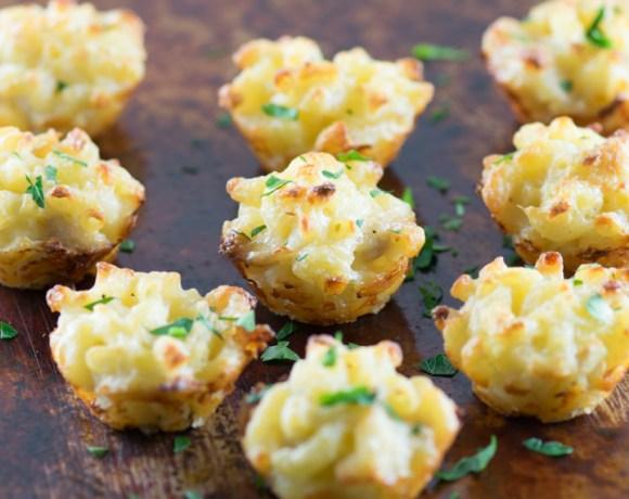Crab Mac & Cheese Bites