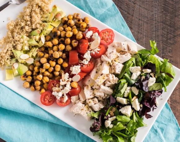 Quinoa Chopped Salad in a Jar