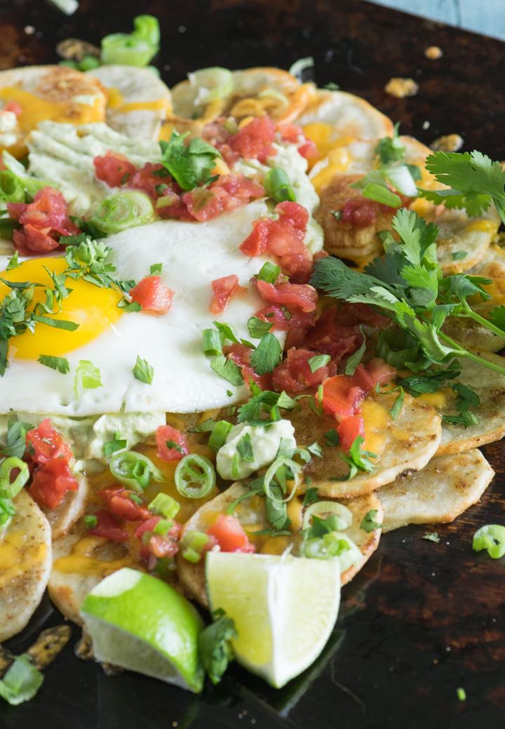 Roasted Potato Breakfast Nachos