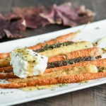 These simple roasted carrots are combined with the unique flavors of cumin, honey and ricotta for a tasty & amazing side dish.