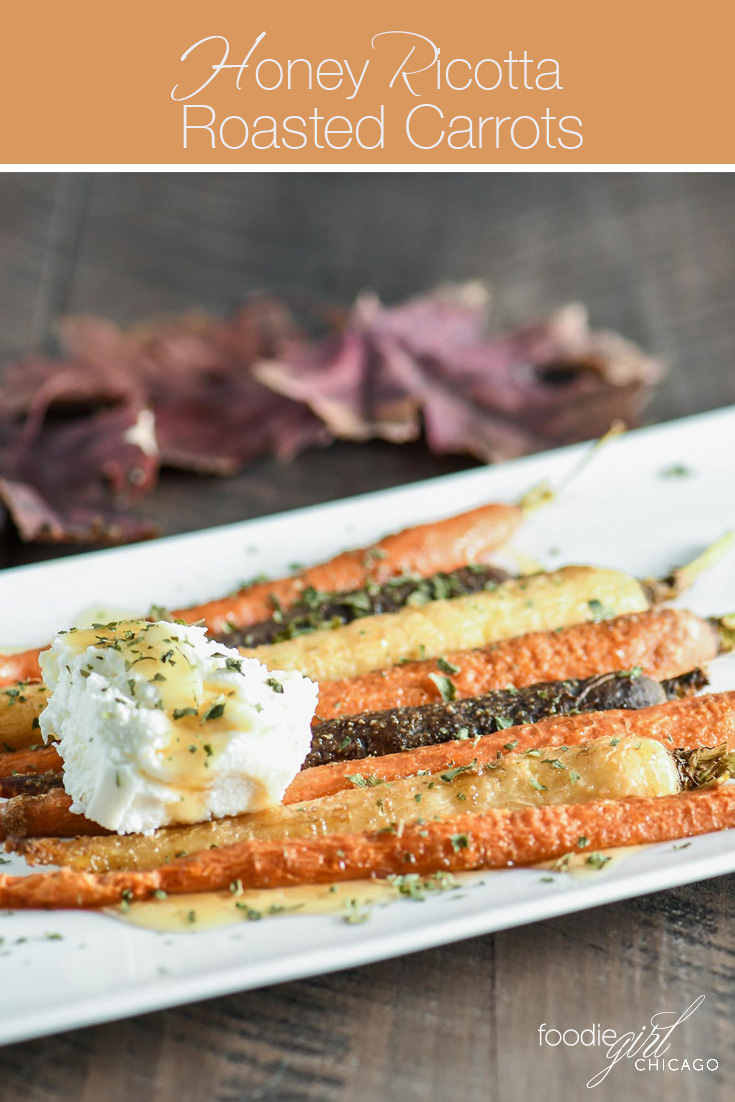 This simple recipe combines carrots with the unique flavors of cumin, honey and ricotta for a slightly sweet, amazing tasting side dish!