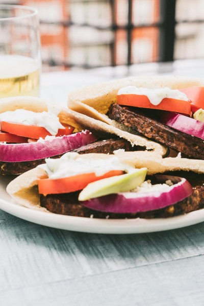 Greek Veggie Burgers