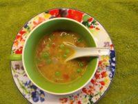 Healthy oats vegetable soup