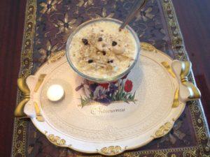 Paneer ki kheer -Cottage cheese dessert