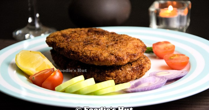 Kolkata Style Minced Chicken Cutlet - Recipe by Foodie's Hut