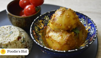 Bengali Kalo Jeere Aloor Torkari - Recipe by Foodie's Hut