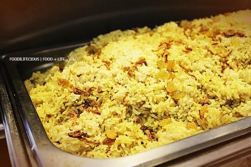 Nasi Briyani (Nasi Putih ada juga)