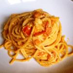 Lo spaghettone pomodoro e feta