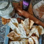 Sfoglie croccanti senza glutine con olio extravergine di oliva