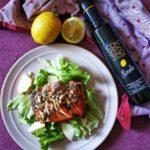 Salmone,noci e Limolio