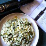 Risotto agli asparagi all'olio extra vergine di oliva