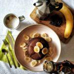 Pancake di riso al cacao