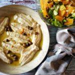 Cefali agli agrumi e olive taggiasche