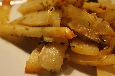 Italiaanse oregano frietjes