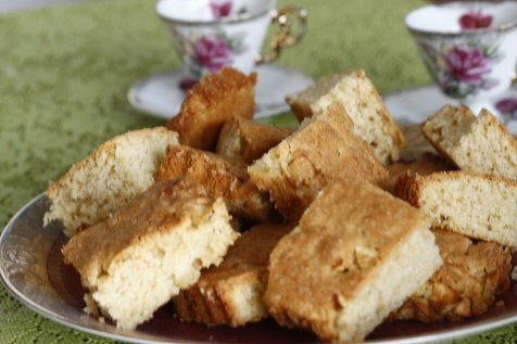 Zoete appel blondies
