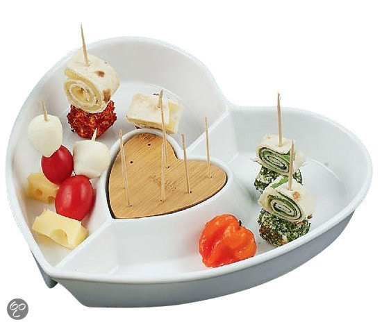 Keuken musthaves voor Valentijn borrel schaaltje