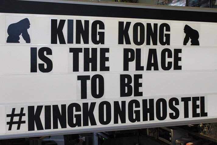 King Kong Hostel hotspot WItte de Withstraat Rotterdam tips