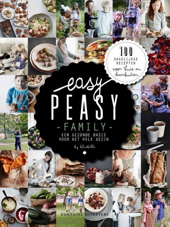 Easy Peasy Family Oktober kookboek favoriet Foodblog Foodinista