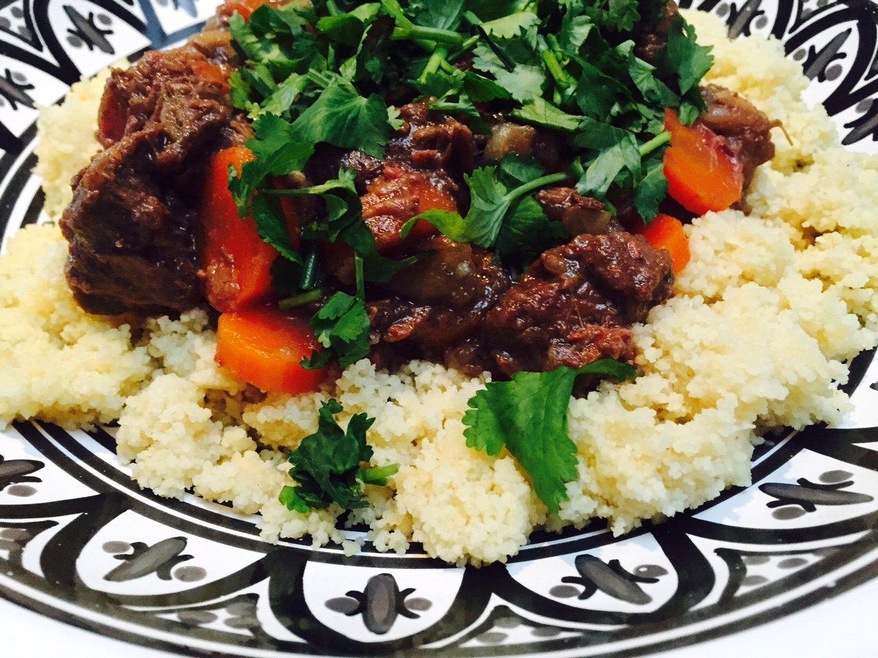 Marokkaanse zoete stoofschotel recept foodblog Foodinista