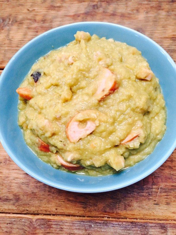 Recept voor goed gevulde erwtensoep receptblog Foodinista