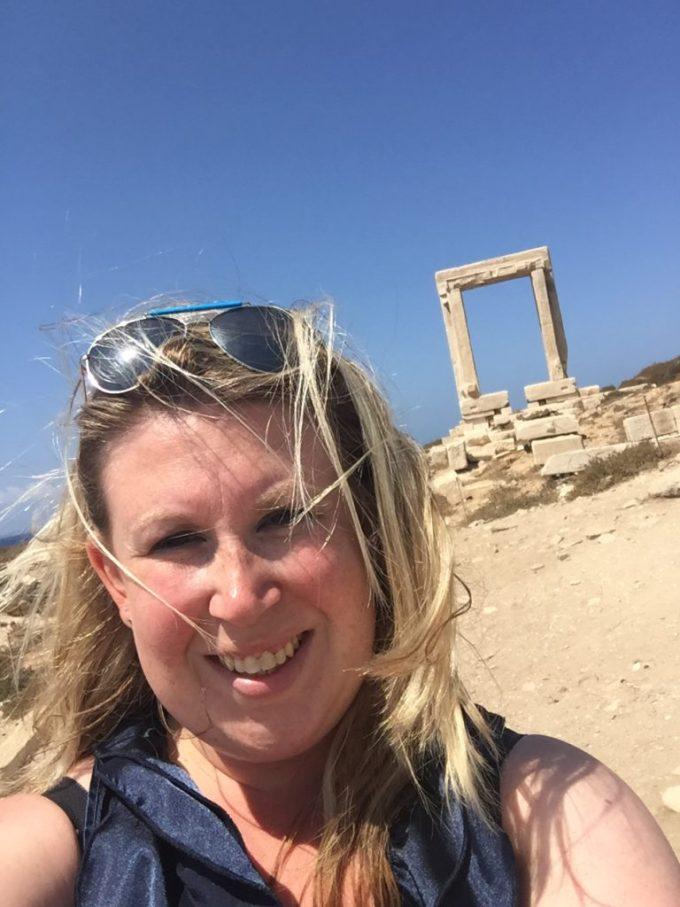 Naxos Sightseeing Apollo Ilovegriekenland foodblog Foodinista