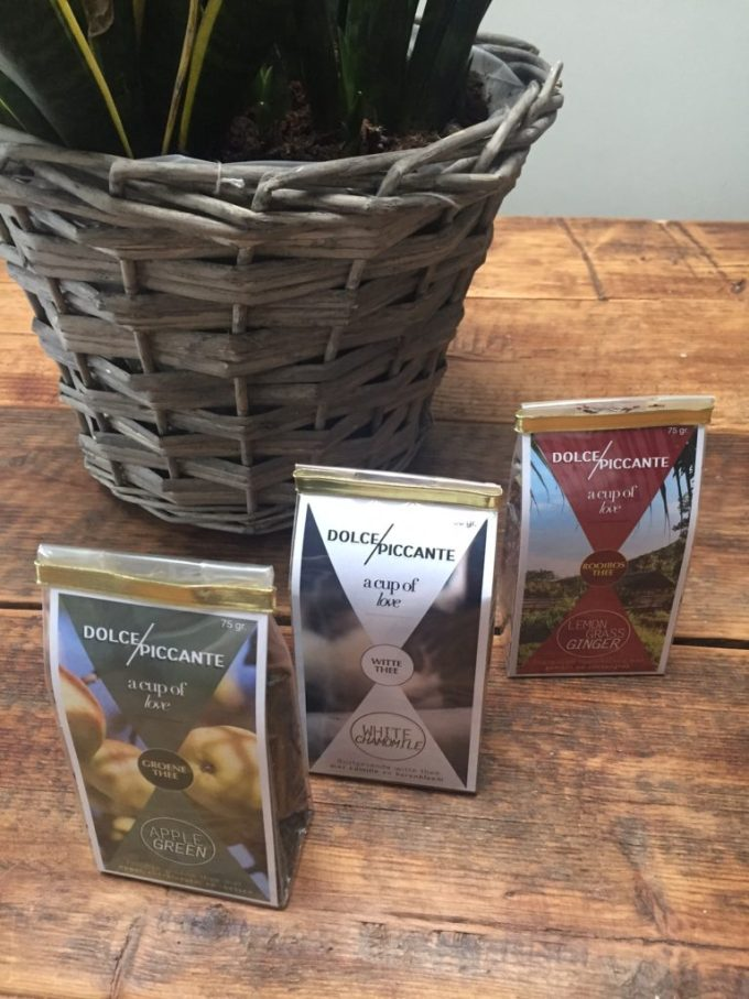 Dolce Piccante losse thee winnen bij Foodblog Foodinista