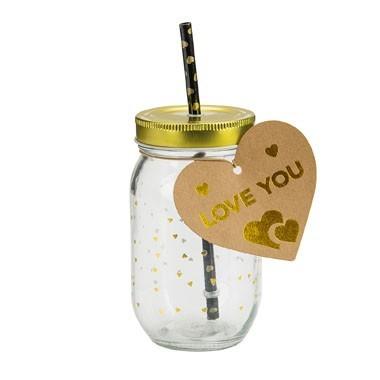 Valentijnscadeautjes tips Maison Jar met favoriet drankje foodblog Foodinista