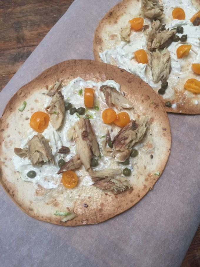 Tortizza met makreel recept van foodblog Foodinista
