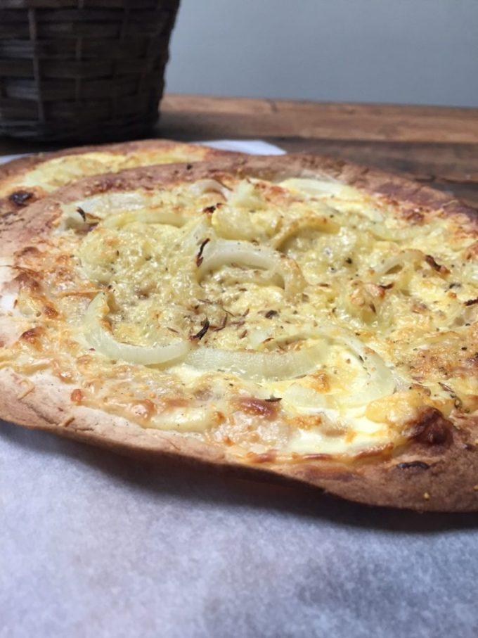 Tortizza met kaas en uien recept van Foodblog Foodinista