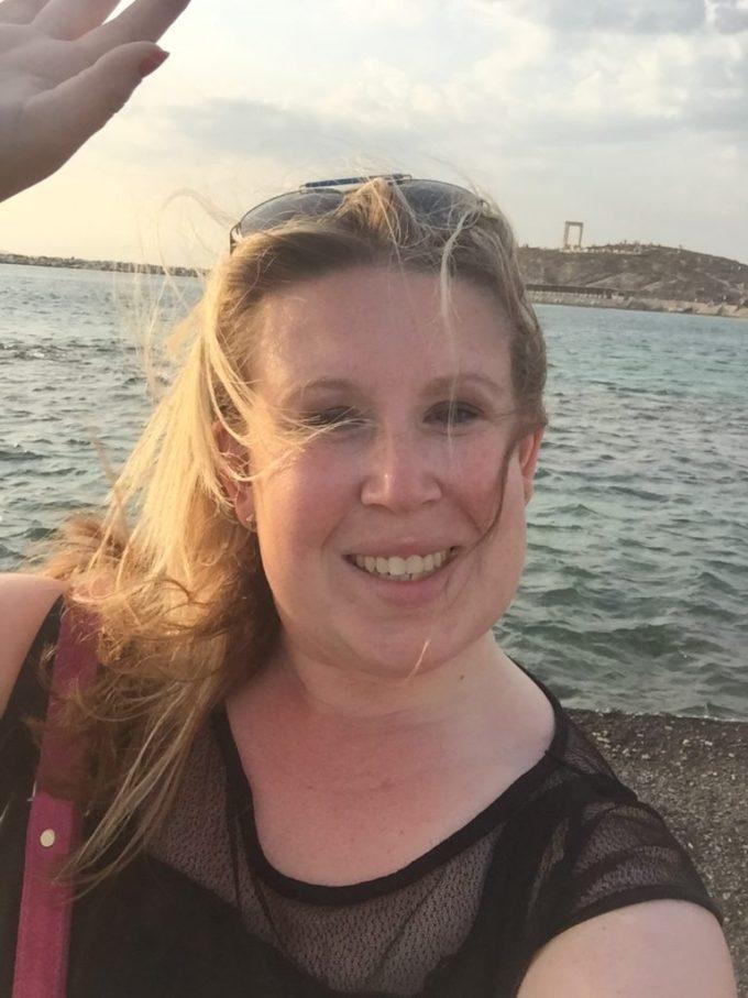 Heerlijke tips in Naxos Griekenland start en eindig bij de poort van Apollo Naxos Cycladen Griekenland blogger Foodinista