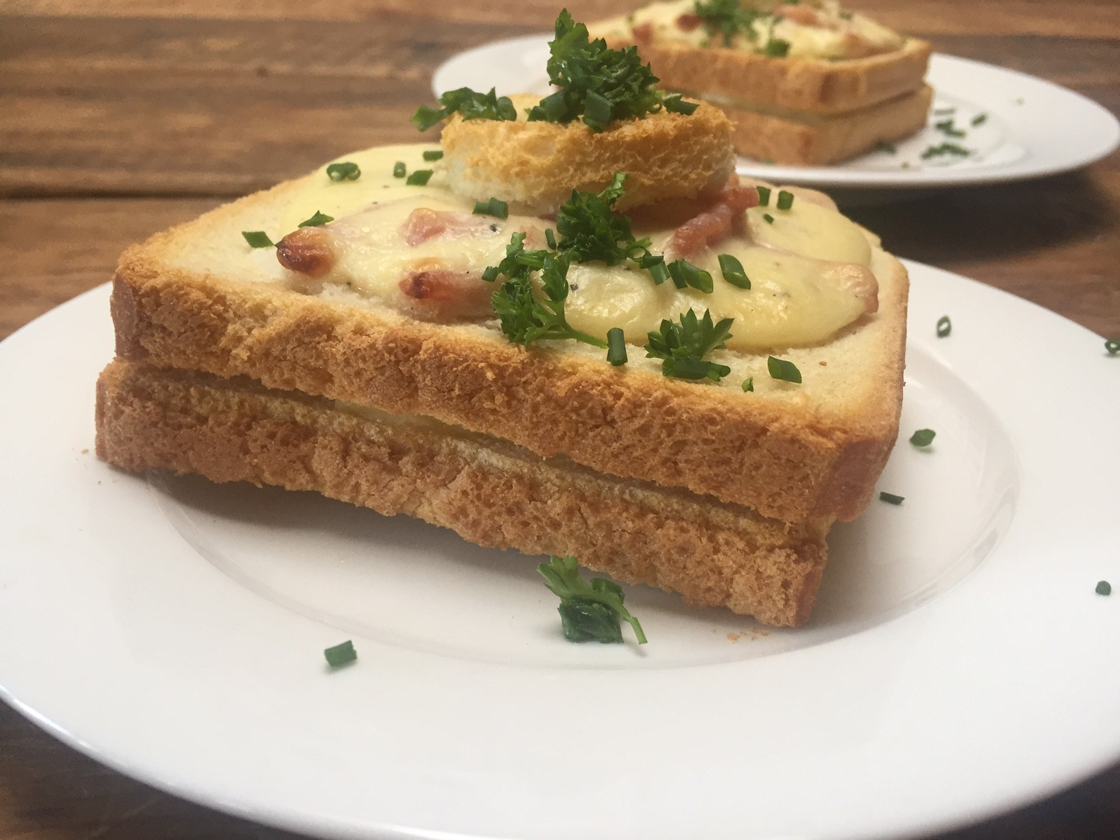 Croque Monsieur recept Foodblog Foodinista