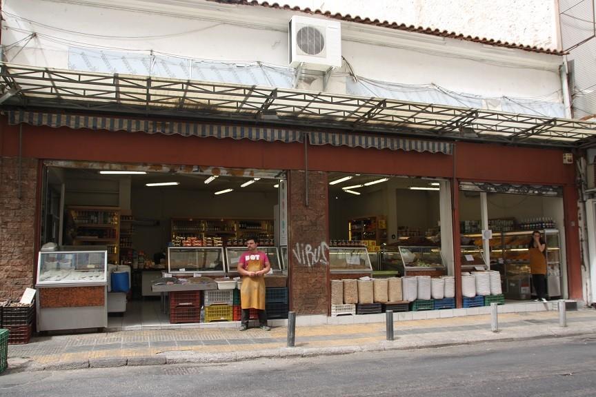 Delicatessenwinkeltjes in Athene Griekenland Foodblog Foodinista