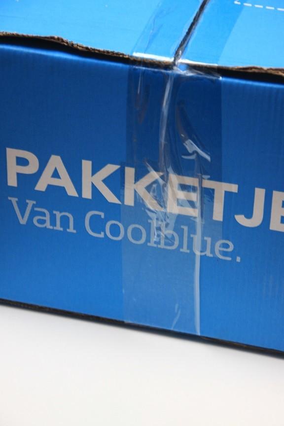 Pakketje van Coolblue met nieuwe blender