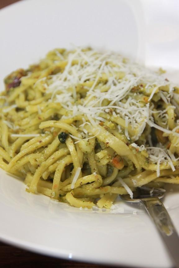 Pistache pesto recept van Foodblog Foodinista