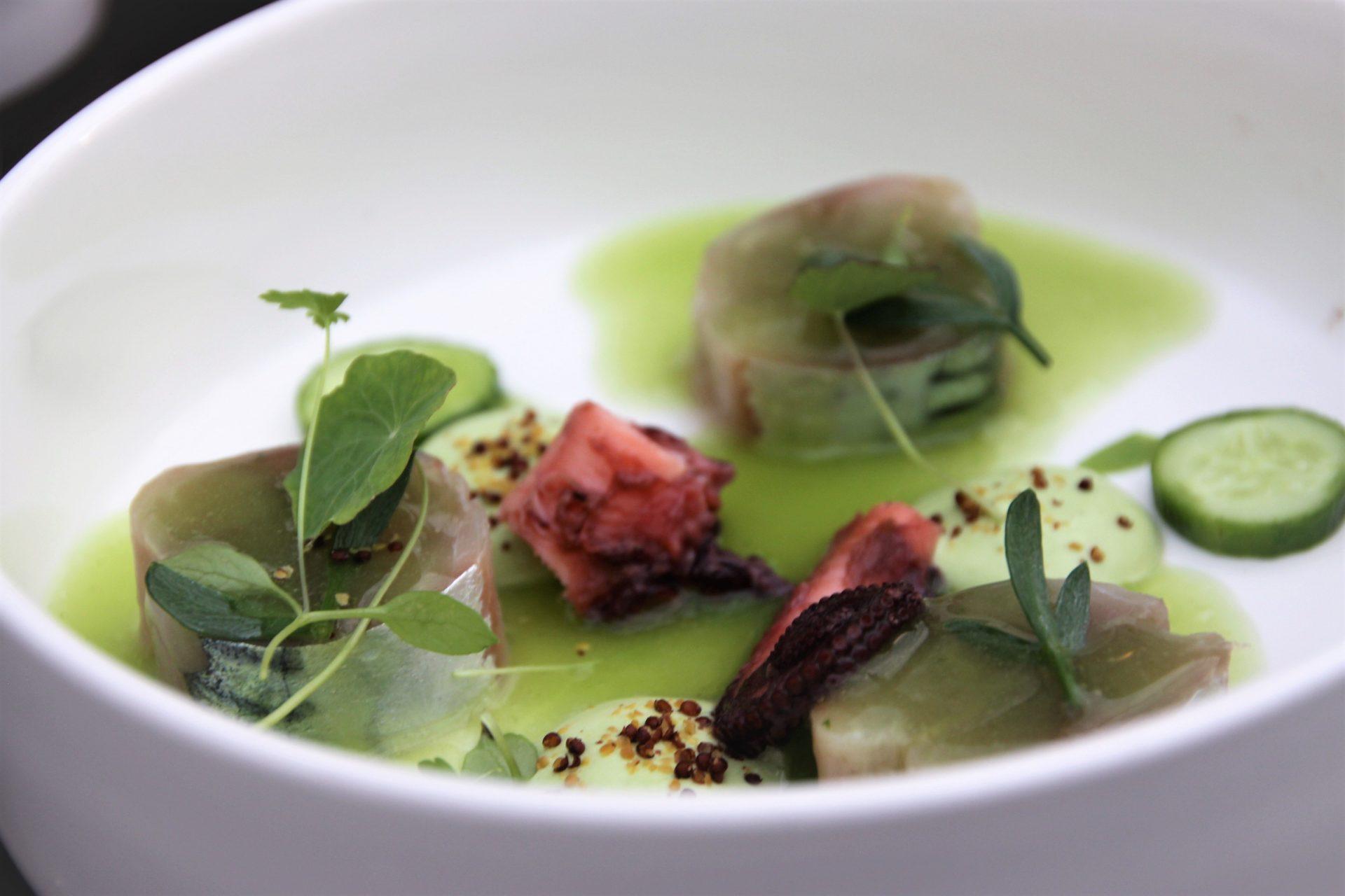 Ceviche van Makreel verrassend dineren bij Restaurant Karakter in Rotterdam review Foodblog Foodinista