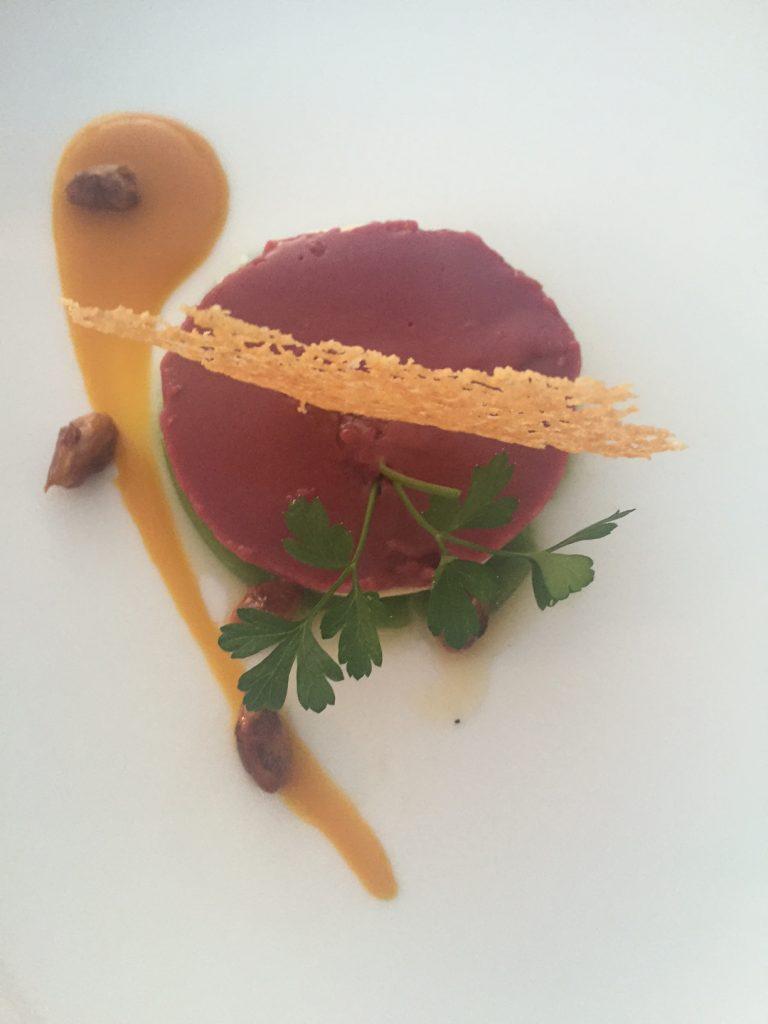 Voorgerecht Hyatt Thagazout Bay restaurant Marokko Foodinista