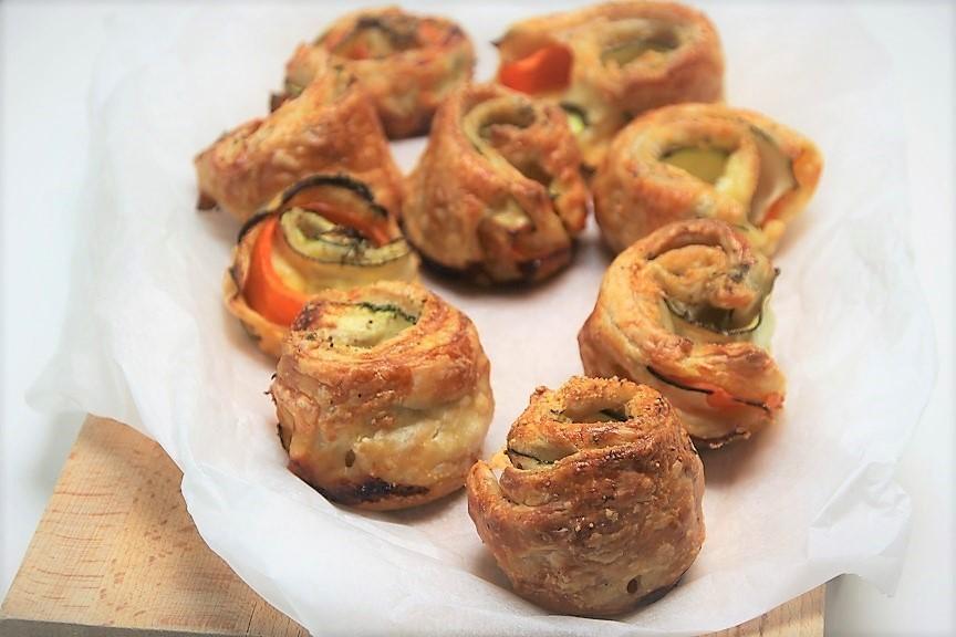 Groentespiraaltaartjes recept van foodblog Foodinista