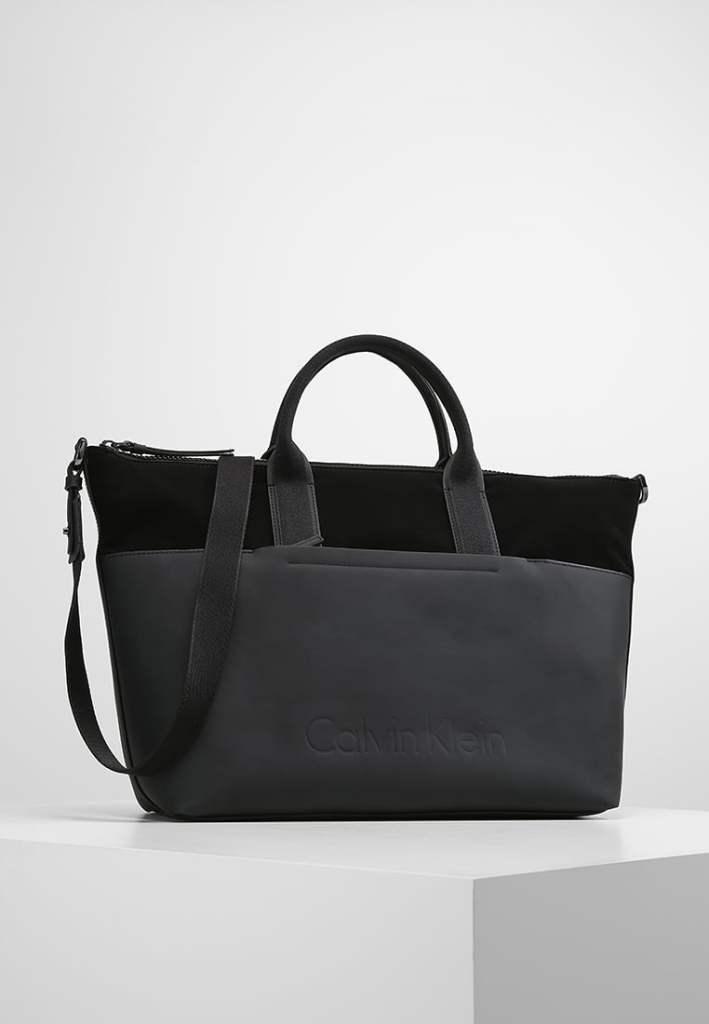 Zwarte Calvin Klein Shopper uitverkoop tip blogger Foodinista