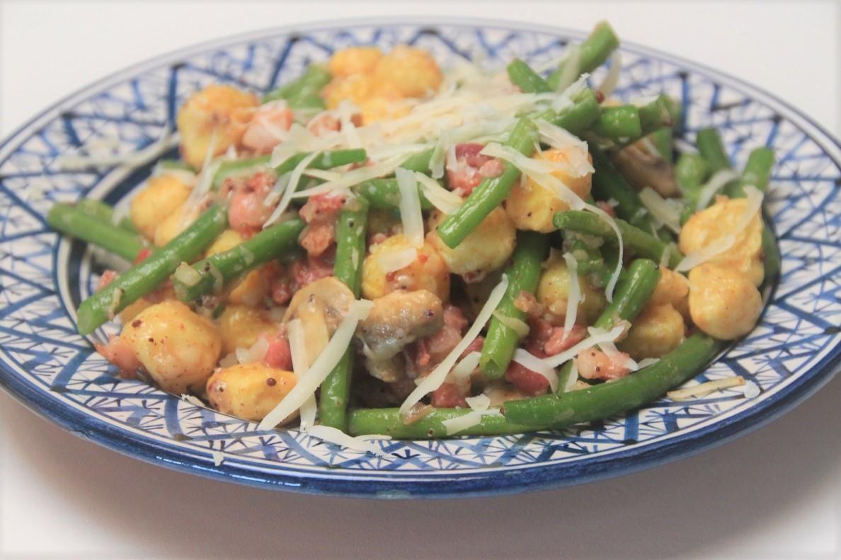 Sperziebonensalade met spekjes recept van Foodblog Foodinista