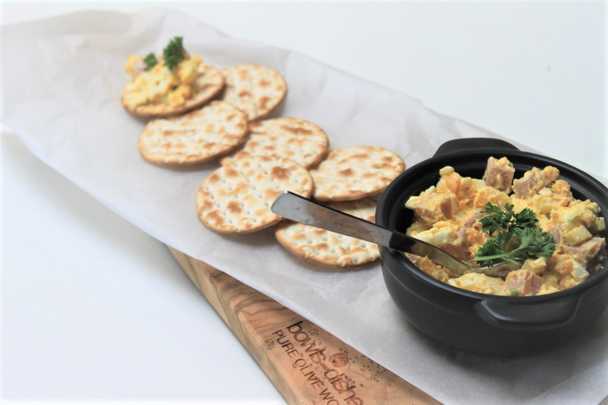 Eiersalade met truffel recept van Foodblog Foodinista