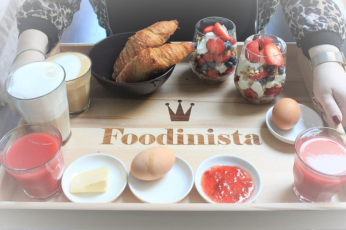 Ontbijt op bed voor newly weds tips foodblog Foodinista