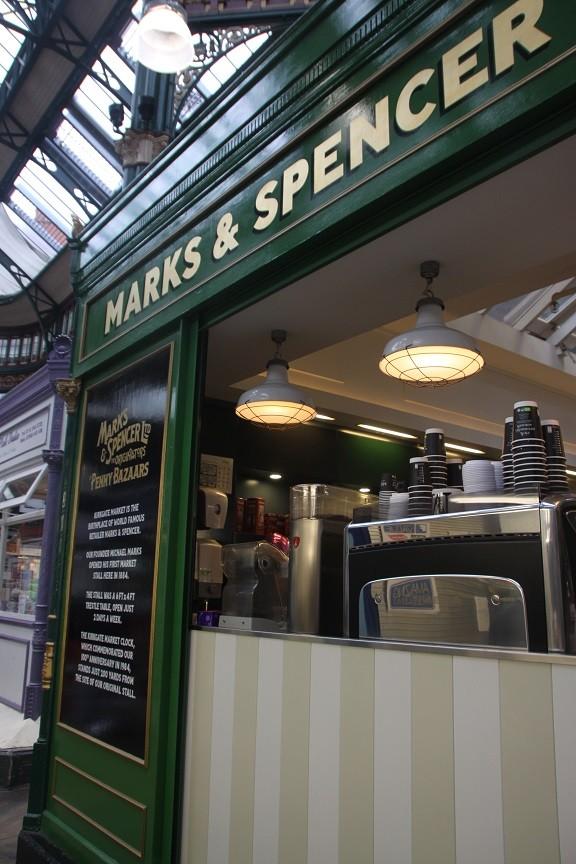 Marks & Spencer Kirkgate Foodhall Foodie in Leeds
