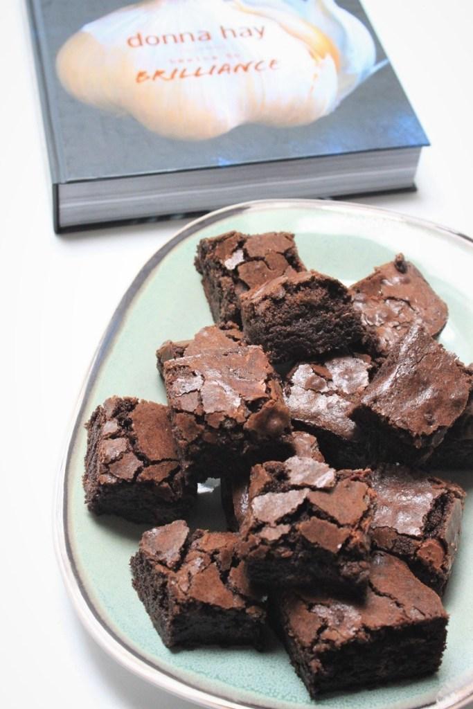 Brownies recept van Donna Hay uit Basics to Brilliance foodblog Foodinista