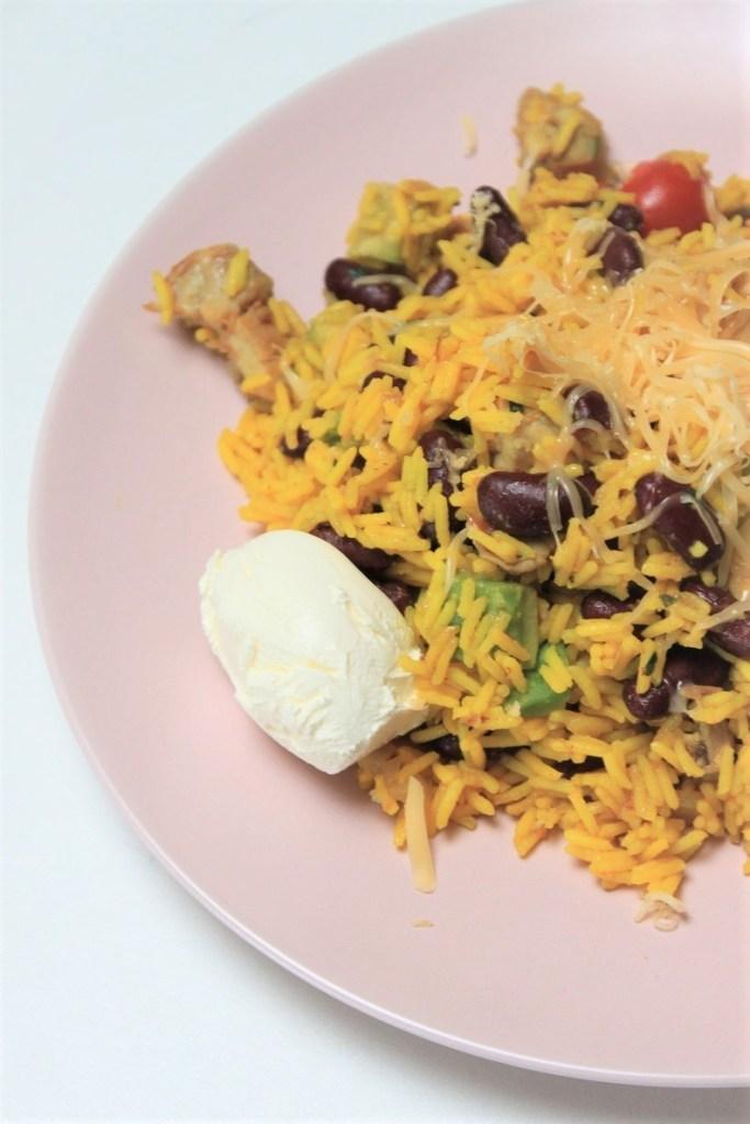 Recept Mexicaanse rijst met kip en groente recept foodblog Foodinista
