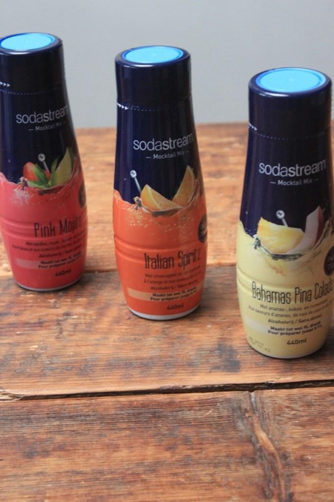 Mocktails maken met Sodastream Foodblog Foodinista